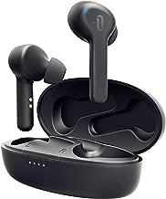 TaoTronics Écouteurs Bluetooth 5.0 TWS avec 40 Heures d'Autonomie, Écouteurs sans Fil Intra-Auriculaires Étanche IPX7 avec Boîtier de Charge et Micro Intégré Contrôle Tactile pour Sport Travail