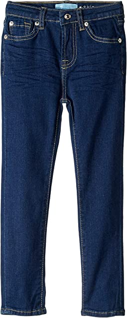 B (Air) The Skinny Stretch Denim Jeans in Avant Rinse (Little Kids)