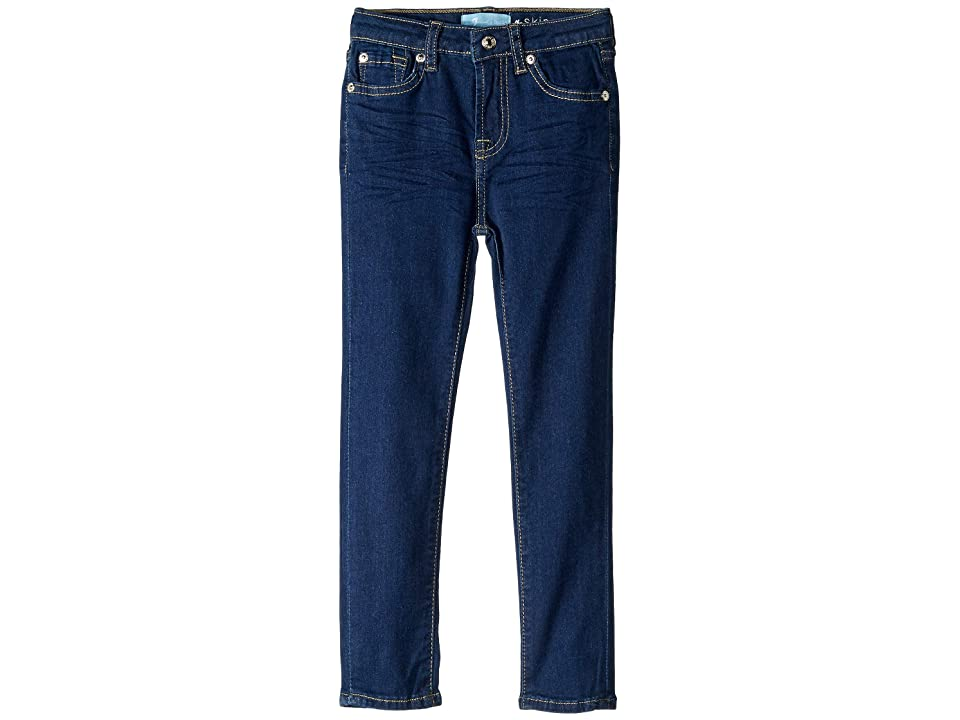 Image of 7 For All Mankind Kids B (Air) The Skinny Stretch Denim Jeans in Avant Rinse (Little Kids) (Avant Rinse) Girl's Jeans