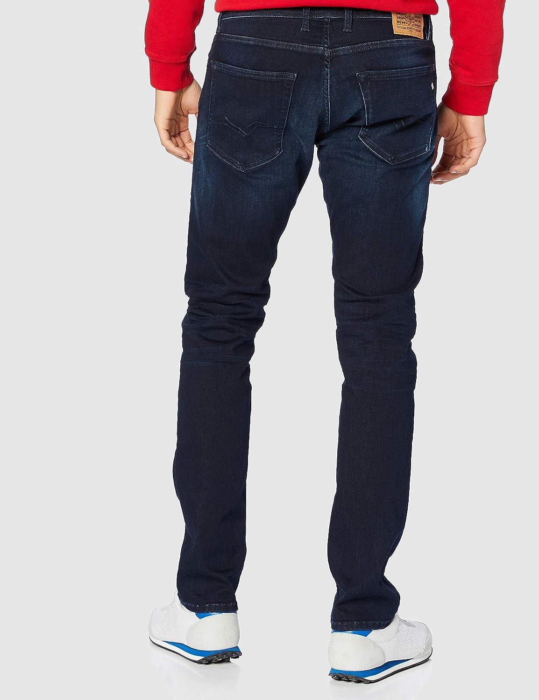 Replay Grover Jeans Homme Bleu (7 Bleu Foncé)