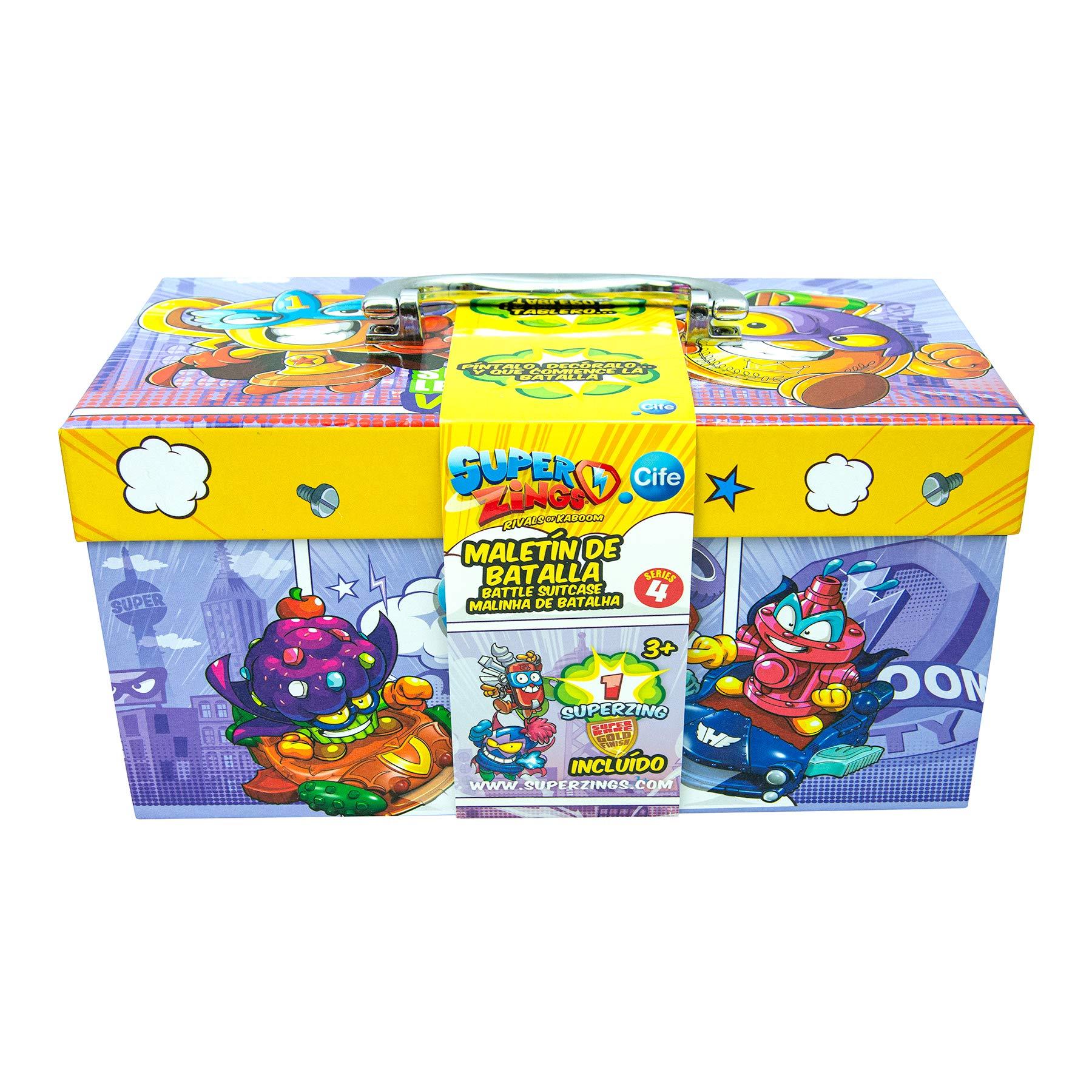 SuperZings Set de Manualidades, Multicolor, única (Cife Spain 41942): Amazon.es: Juguetes y juegos
