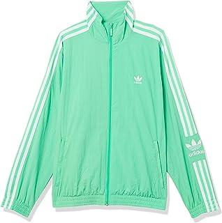 adidas Originals Women's Lock Up Track Top Jacket, Prism Mint/White, S
