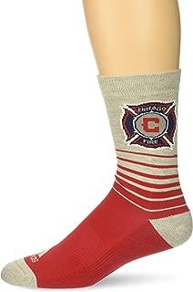 MLS Men's Jacquard Pattern Crew Socks