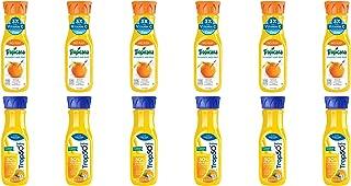 LUV BOX - Variety Tropicana Pure Premium Juice Pack 12oz Plastic Bottle, 12 pk, Orange Juice No Pulp Vitamin C & Zinc, Trop 50 Orange Juice with Calcium