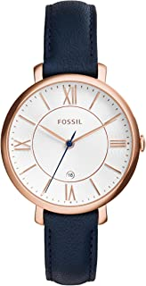 Fossil Casual Watch For Women Analog Leather - ES3843