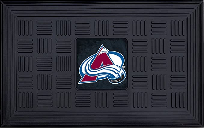 Amazon Com Fanmats Nhl Mens Medallion Door Mat Sports Outdoors