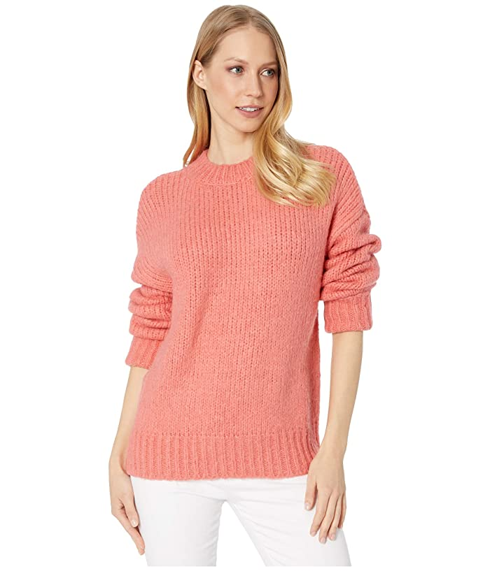 Sanctuary  Telluride Sweater (Winter Coral) Womens Clothing