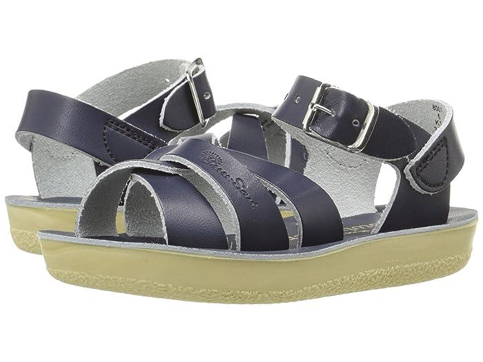 Salt Water Sandal by Hoy Shoes  Sun-San - Swimmer (Toddler/Little Kid) (Navy) Kids Shoes