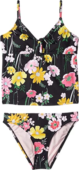 Flower Fields Tankini & Hipster (Big Kids)