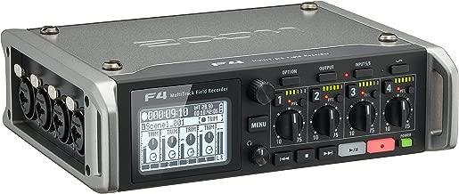 Zoom F4 Multitrack Field Recorder (Renewed)