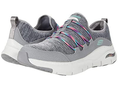 SKECHERS Arch Fit Rainbow View (Grey Multi) Women