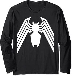 Venom Classic Spider Symbol Halloween Long Sleeve Tee