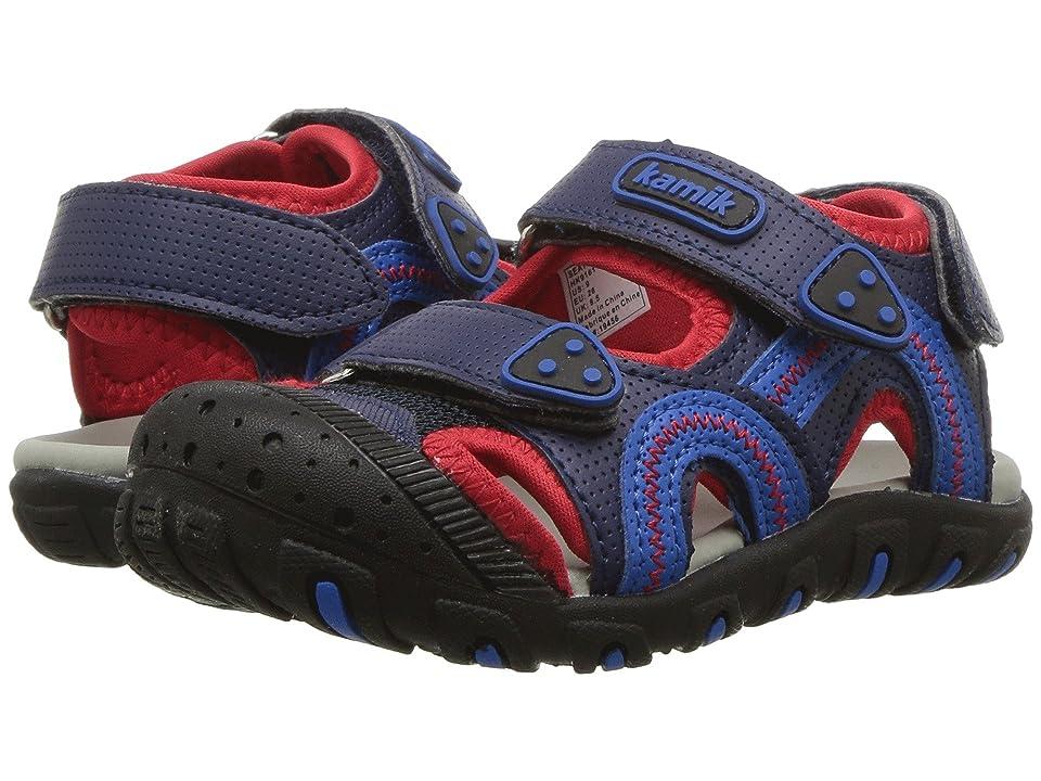 Kamik Kids Seaturtle (Toddler/Little Kid/Big Kid) (Blue/Red) Boy