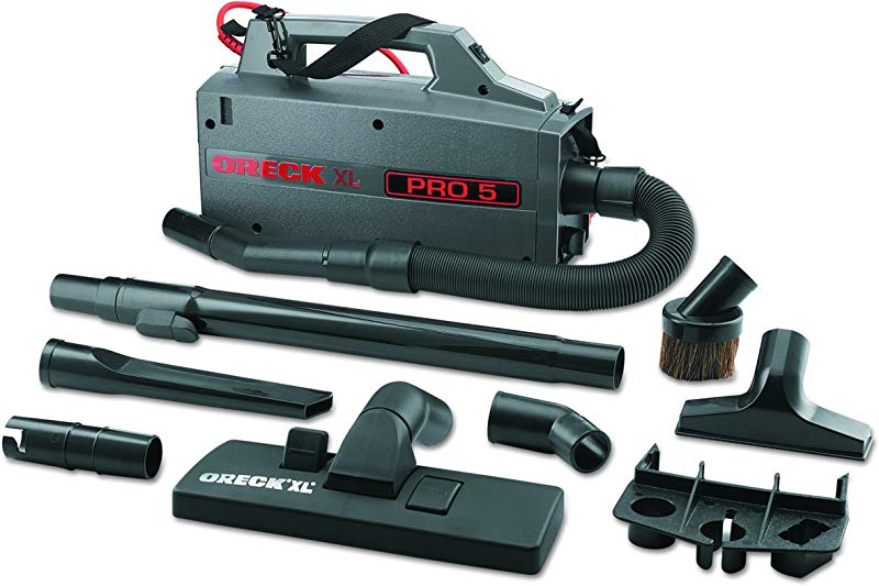 Oreck Commercial BB900DGR XL Pro 5 Super Compact Canister Vacuum 30 Power Cord