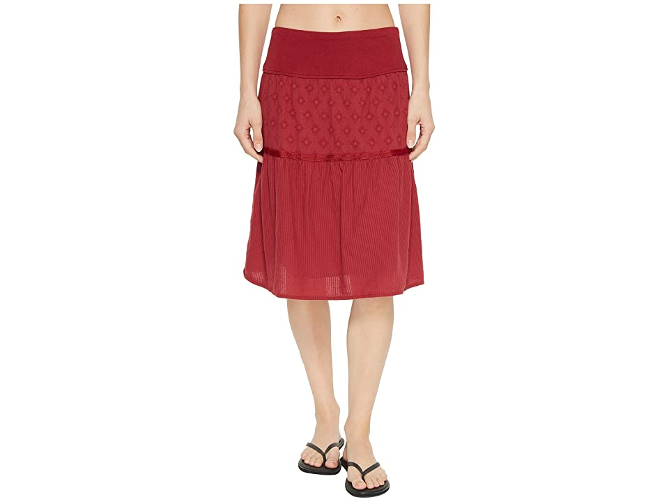 Prana Taja Skirt (Crushed Cran) Women