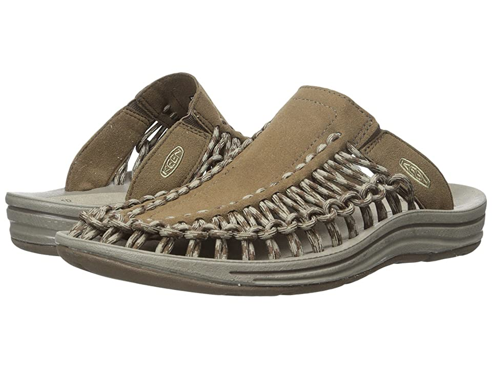 Keen Uneek Slide (Dark Earth/Brindle) Men