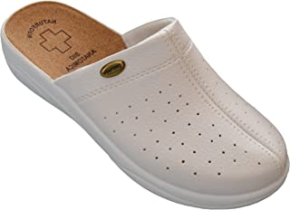 142228b1e972a3 Bawal Mules Sandales Confort pour Cuisine ou hopital | Semelle en liège | Chaussures  Femme Dames