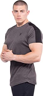 BodyVertex Men's Premium Fitted Short-Sleeve Crew T-Shirt