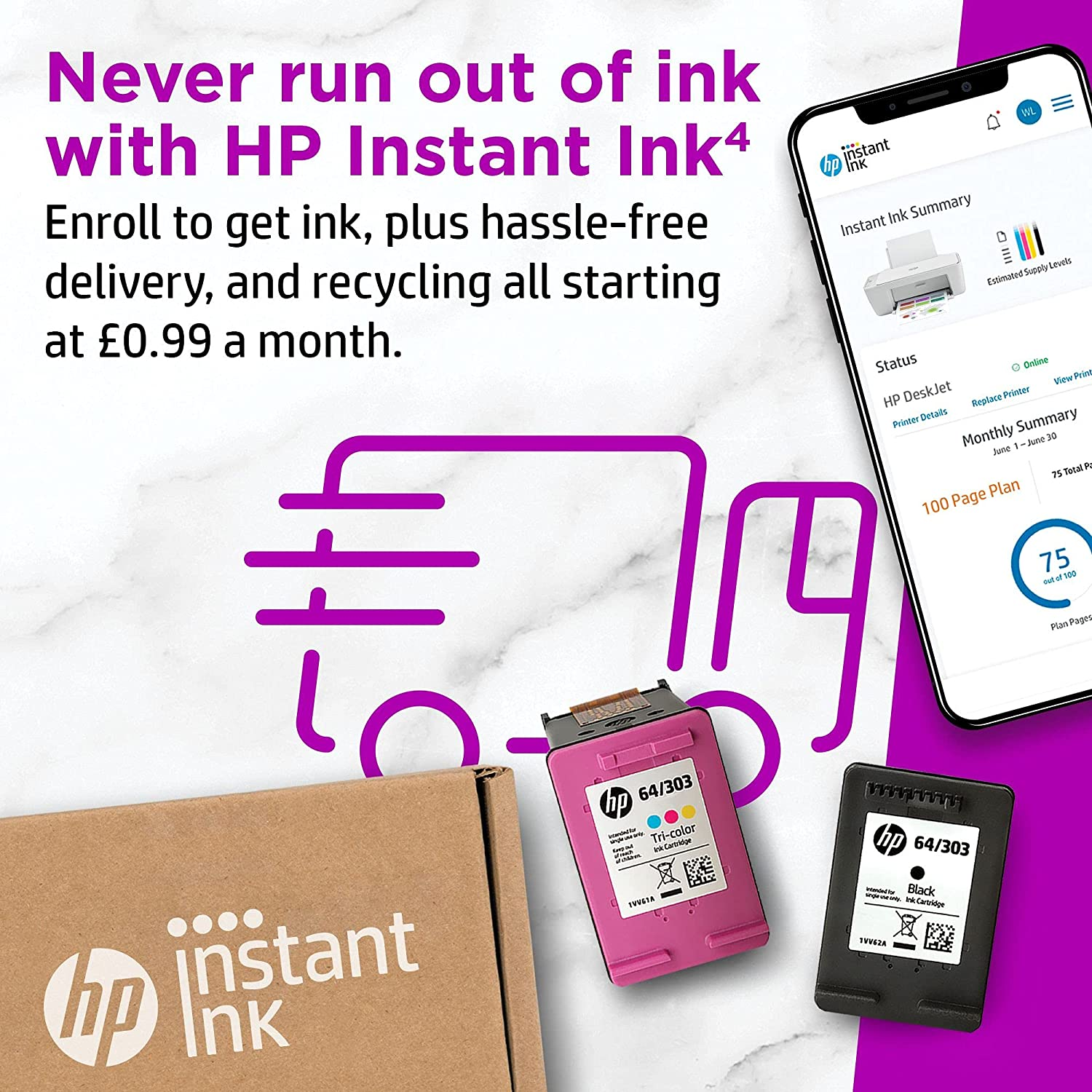 Buy Hp Officejet 8012e All In One Colour Printer With 6 Months Of Instant Ink With Hp Online In Taiwan B08yrmq45j
