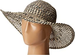 PBL3080 Four Buttons Open Weave Floppy Hat
