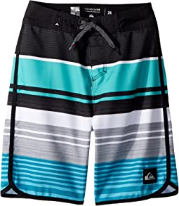 Eye Scallop 18 Boardshorts (Big Kids)