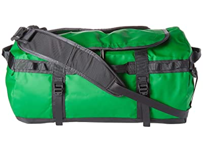 The North Face Base Camp Duffel Small (Primary Green/Asphalt Grey) Duffel Bags