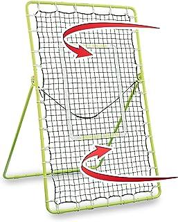 Rukket Tennis Practice Rebounder Net | Rebound Wall for Tennis & Racquet Sports Ball | Portable Backboard for Indoor & Outdoor Training