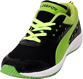 ZEEFOX 3900F Men's PU Badminton Shoes Green