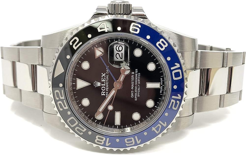 Rolex orologio da uomo automatico in acciaio inossidabile 116710BLNR