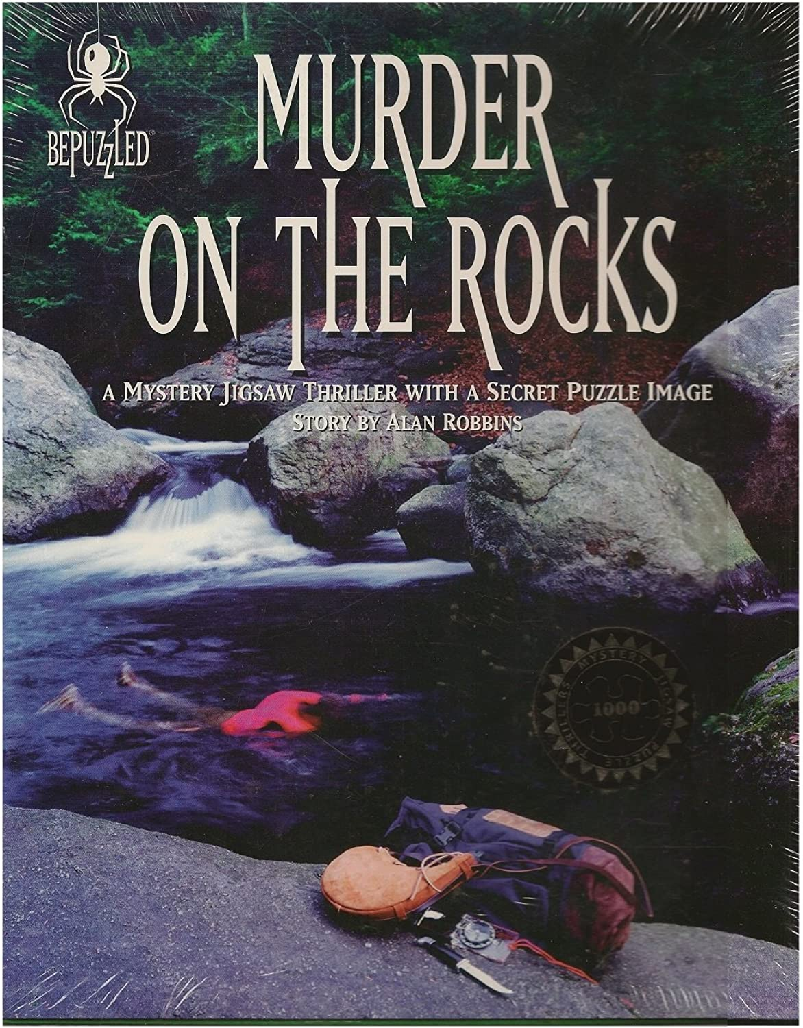 Mystery Jigsaw Puzzle  Murder on the Rocks by Bepuzzled