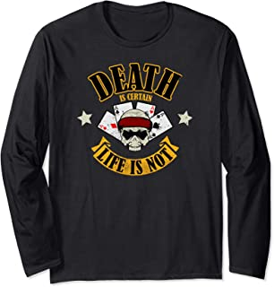 Death Is Certain - Special Forces (distressed) Long Sleeve T-Shirt