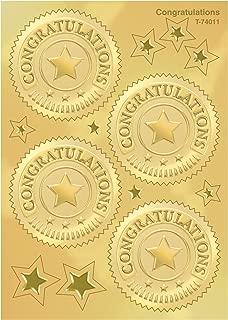 トレンド ごほうびシール おめでとう メダル 金 32枚入り