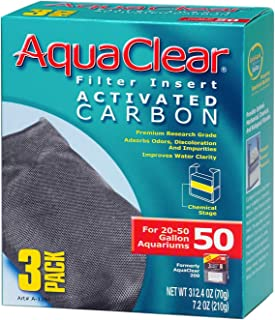 AquaClear Filtro para pecera 200 CARBON 3/Piezas