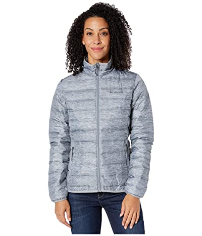 Columbia Lake 22tm Down Jacket (Tradewinds Grey/Heather Print/Tradewinds Grey) Women