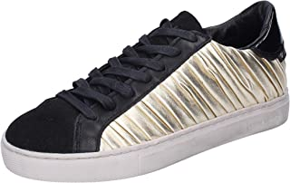 Crime London Trainers Womens Leather Silver