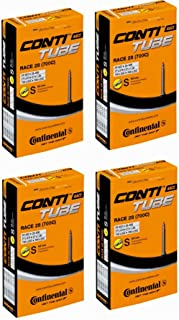 4本セット (コンチネンタル) Continental チューブ Race28 700×20-25C (仏式60mm) [並行輸入品]