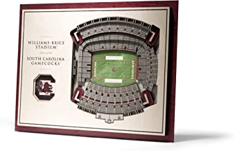 YouTheFan NCAA Alabama Crimson Tide 5-Layer StadiumView 3D Wall Art
