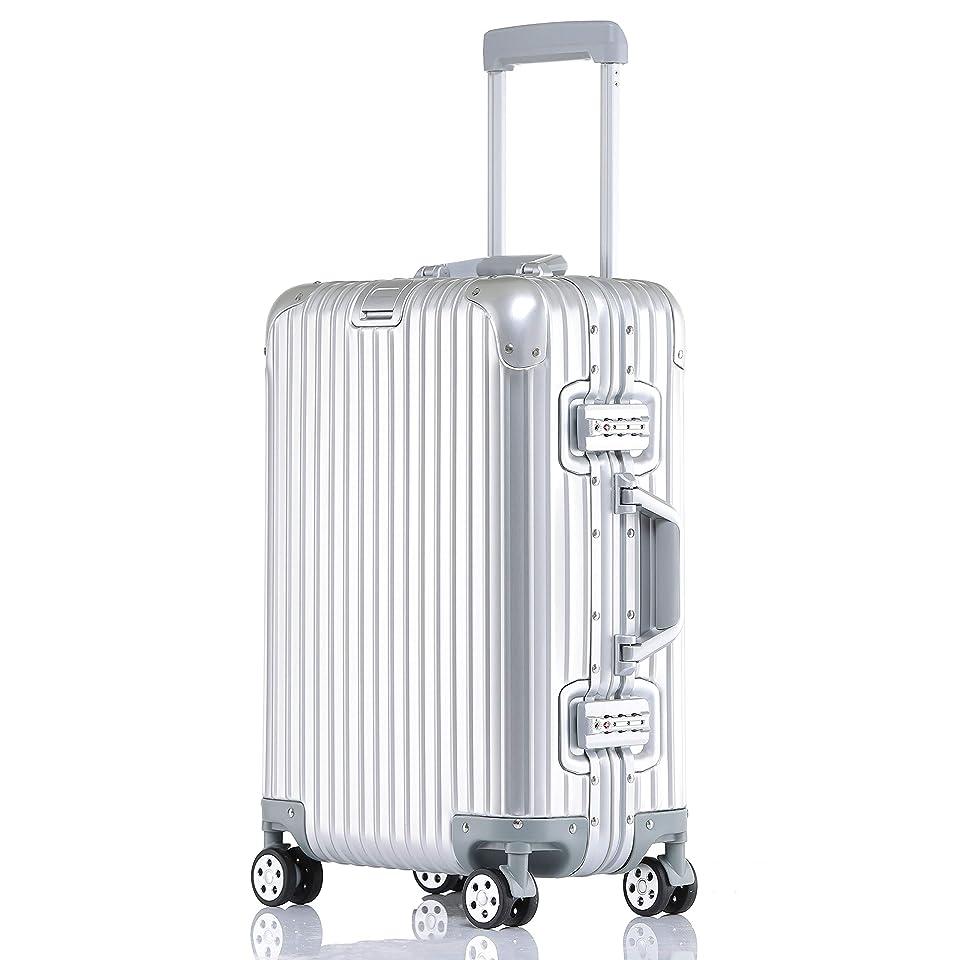 ミネラル困難事件、出来事ボンイージ(bonyage) アルミ?マグネシウム合金ボディ スーツケース キャリーバッグ 機内持込 静音 360度自由回転 旅行出張 1年保証
