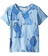 mini rodini - Lion Short Sleeve Tee (Infant/Toddler/Little Kids/Big Kids)