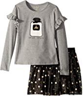 Kate Spade New York Kids - Chic Skirt Set (Toddler/Little Kids)