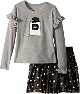 Chic Skirt Set (Toddler/Little Kids)