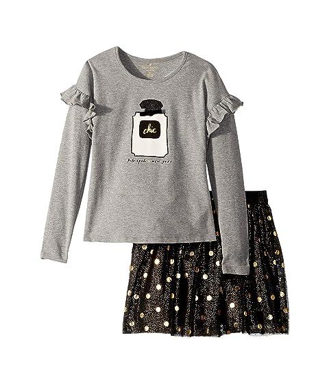 Kate Spade New York Kids Chic Skirt Set (Toddler/Little Kids)