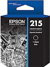 EPSON T215 Ink Standard Capacity Black Cartridge (T215120-S) for select Epson WorkForce Printers