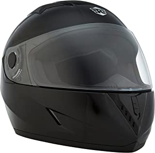 Royal Enfield Glossy Black Full Face Helmet Size (M)58 CM (RRGHEI000089)