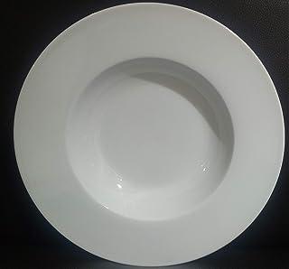 """Symphony QRD 19026 8"""" SUPER WHITE SOUP PLATE"""