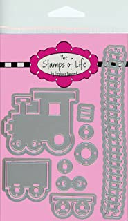 Toy Train Die Cuts for Card-Making and Scrapbooking Supplies by The Stamps of Life