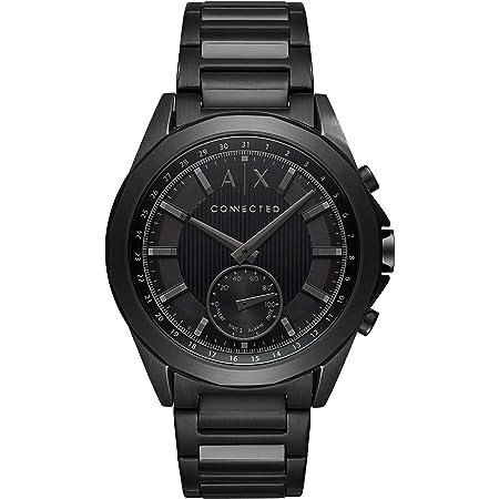 [Armani Exchange] スマートウォッチ DREXLER AXT1007 メンズ ブラック