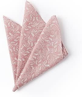 Jacob Alexander Men's Floral Pocket Square Handkerchief