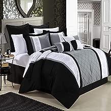 Best grey black comforter sets Reviews