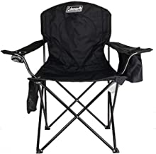 Best Coleman Portable Camping Quad Chair with 4-Can Cooler Reviews